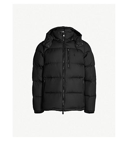POLO RALPH LAUREN Padded shell-down jacket (Polo black