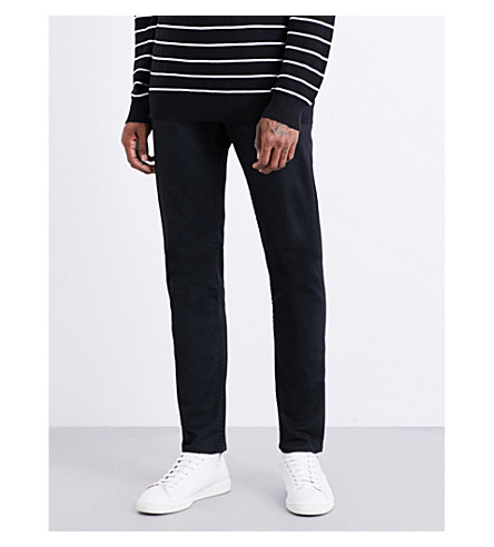 POLO RALPH LAUREN Slim-fit tapered jeans (Edwards+black+s
