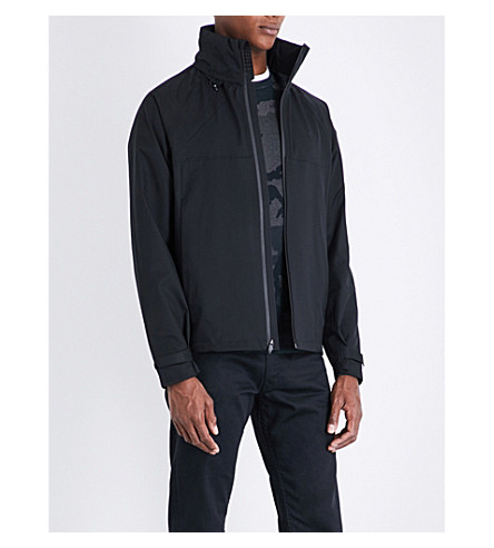 POLO RALPH LAUREN Repel hooded shell jacket (Polo+black
