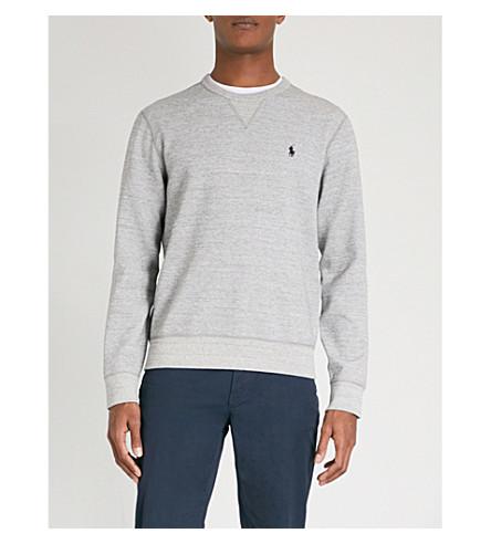 POLO RALPH LAUREN Double-knit jersey sweatshirt (Vintage+s/p+hthr