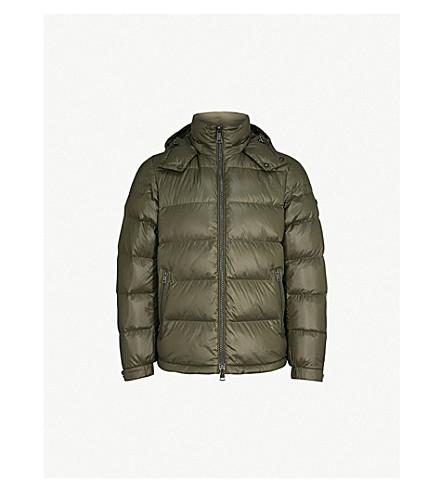 POLO RALPH LAUREN Puffer shell-down jacket (Deep+loden