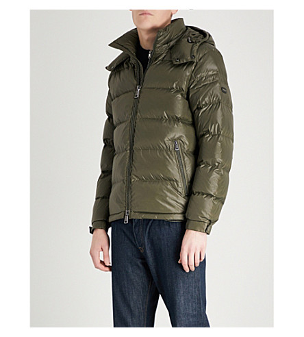 POLO RALPH LAUREN Puffer shell-down jacket (Deep+loden