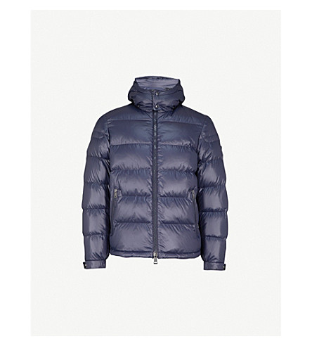 POLO RALPH LAUREN High-shine shell-down jacket (College+navy