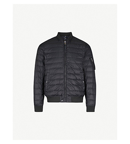 POLO RALPH LAUREN Quilted shell bomber jacket (Polo+black