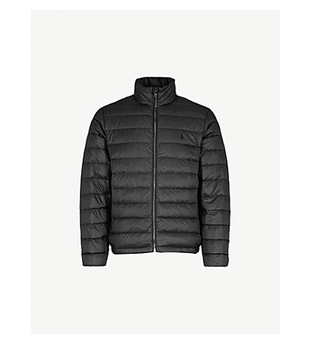 POLO RALPH LAUREN Puffer shell-down jacket (Polo+black