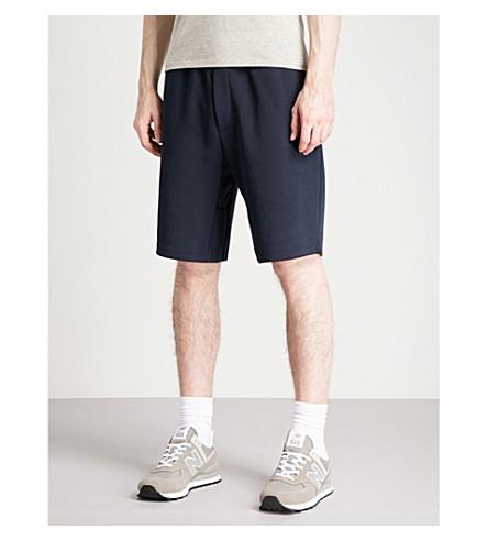 POLO RALPH LAUREN Relaxed-fit jersey shorts (Aviator+navy