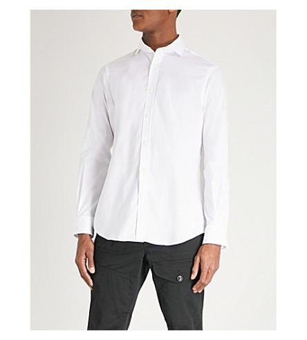POLO RALPH LAUREN Regular-fit cotton shirt (2631a+white