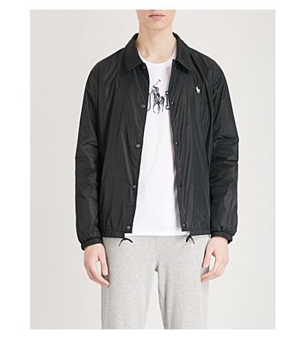 POLO RALPH LAUREN Logo-detail shell jacket (Polo+black