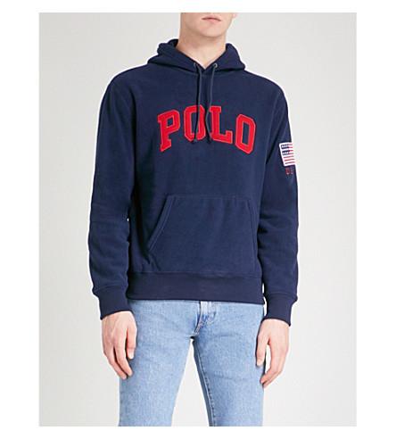 POLO RALPH LAUREN Vintage polar fleece hoody (Cruise+navy