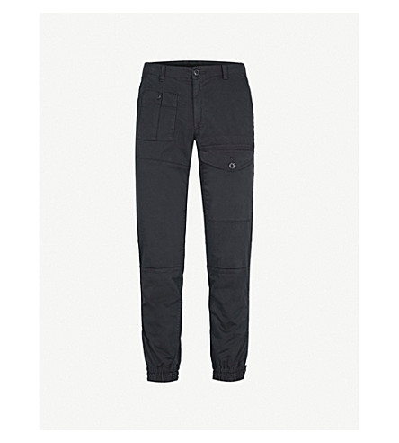 POLO RALPH LAUREN Relaxed-fit cotton blend chinos (Black