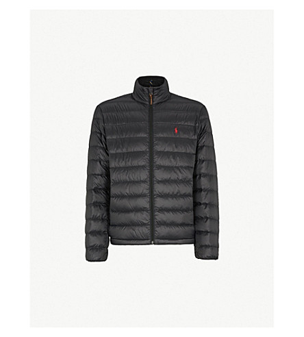 POLO RALPH LAUREN Down-filled shell jacket (Polo black