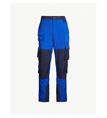POLO RALPH LAUREN Hi Tech relaxed-fit shell trousers (Royal/+newport+navy