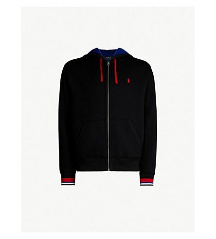 500ac867e5 POLO RALPH LAUREN Fleece-lined jersey hoody (Polo+black