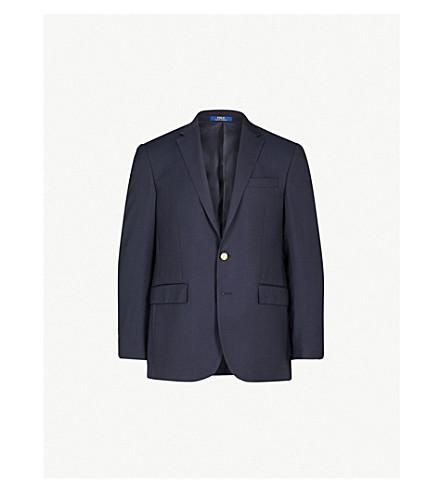 16bfdb534 POLO RALPH LAUREN Polo notch-lapel wool jacket (Classic+navy