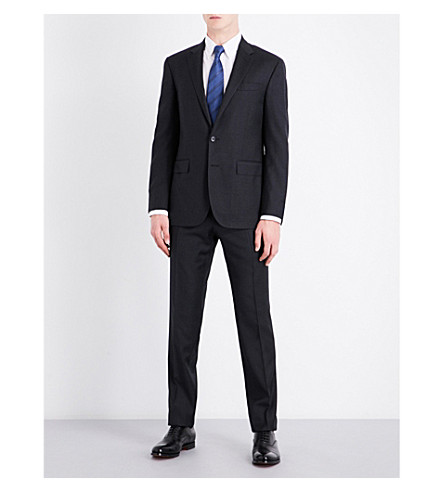 POLO RALPH LAUREN Custom-fit wool suit (Charcoal
