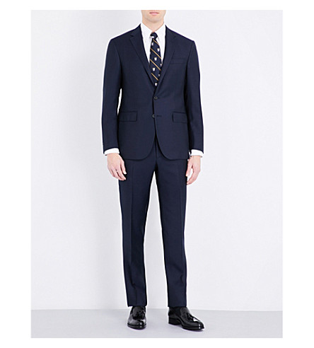 POLO RALPH LAUREN Custom-fit wool-blend suit (Classic+navy