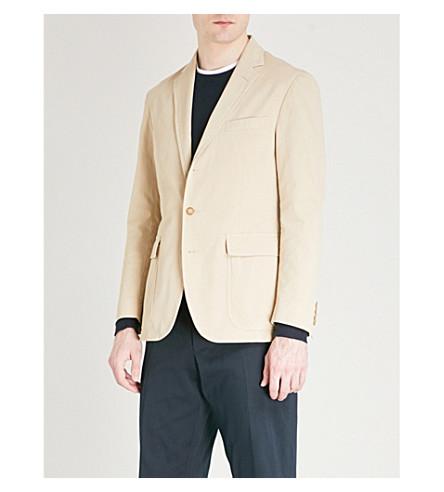 POLO RALPH LAUREN Morgan-fit cotton-blend jacket (Beige