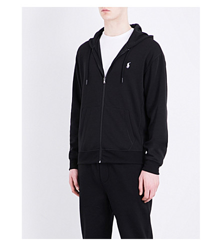 POLO RALPH LAUREN Knitted hoody (Polo+black