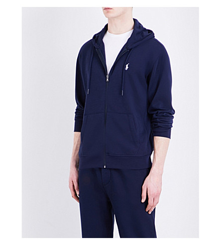 POLO RALPH LAUREN Knitted hoody (French+navy