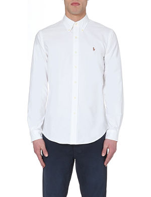 RALPH LAUREN Oxford single cuff shirt