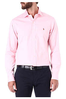 RALPH LAUREN Slim estate cotton shirt