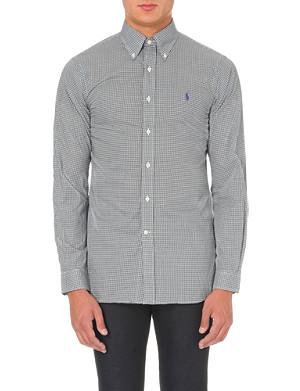 RALPH LAUREN Slim-fit single-cuff cotton shirt