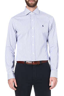 RALPH LAUREN Slim regent stripe shirt