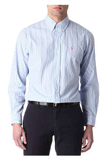 RALPH LAUREN Striped custom-fit shirt