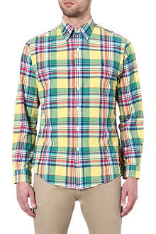 RALPH LAUREN Classic-fit checked sport shirt
