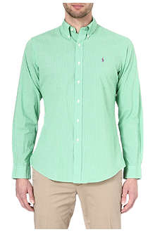 RALPH LAUREN Button down polo player shirt
