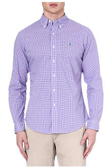 RALPH LAUREN Custom-fit button-down shirt