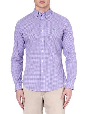 RALPH LAUREN Custom-fit button-down shirt