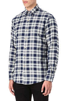 RALPH LAUREN Checked button-down shirt