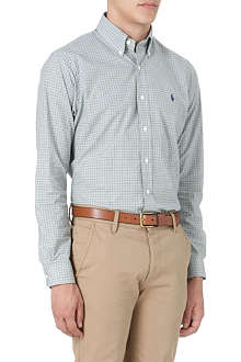 RALPH LAUREN Check single-cuff shirt