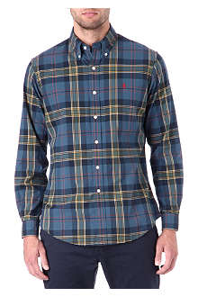 RALPH LAUREN Checked flannel shirt
