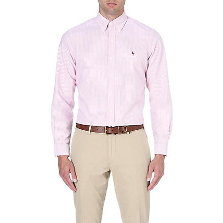 RALPH LAUREN Checked flannel shirt (Fl10a-red/white