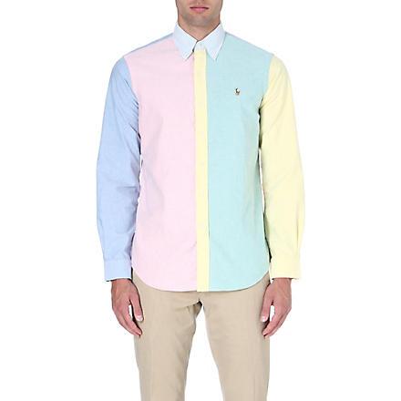 RALPH LAUREN Checked flannel shirt (Fl18-funshirt