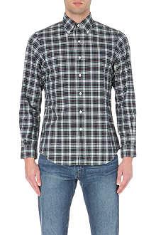 RALPH LAUREN Check print cotton shirt