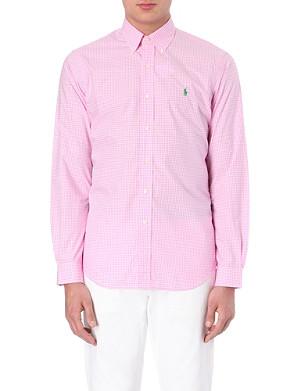 RALPH LAUREN Cotton regular-fit shirt