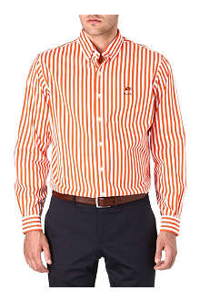 RALPH LAUREN Checked custom-fit single cuff shirt