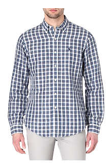 RALPH LAUREN Checked custom-fit shirt