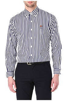 RALPH LAUREN Custom-fit striped shirt