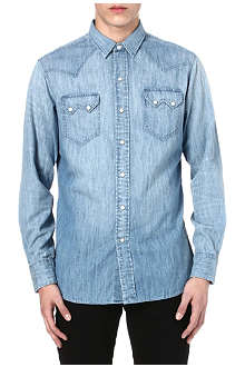 RALPH LAUREN Western denim shirt