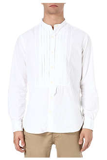 RALPH LAUREN Indochine pleated bib front shirt