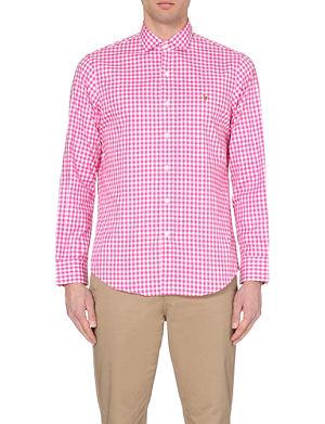 RALPH LAUREN Gingham regular-fit shirt