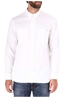 RALPH LAUREN Linen-blend single-cuff shirt