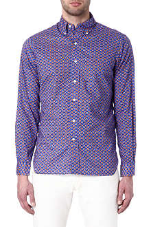 RALPH LAUREN Printed cotton shirt