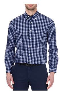 RALPH LAUREN Checked button-down collar shirt