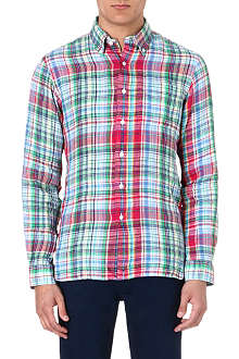 RALPH LAUREN Linen check shirt