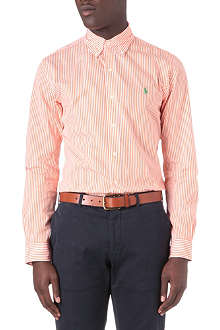RALPH LAUREN Slim-fit striped shirt